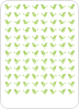 Green Pea: Thank You Cards - Back View